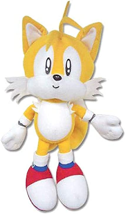 Amazon Com Sonic The Hedgehog Great Eastern Ge 7089 Plush Classic Tails 7 Toys Games