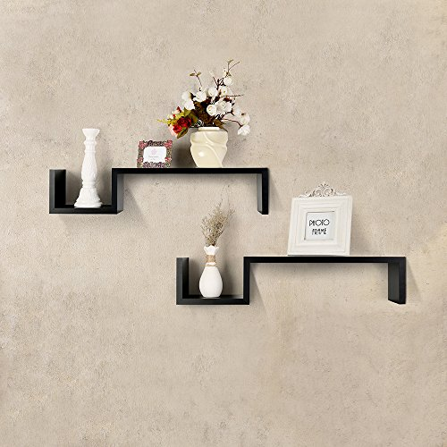 Review Shelving Solution S Style Wall Mount Shelf, Set of 2 By SHELVING SOLUTION by SHELVING SOLUTION
