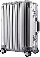 クロース(Kroeus)キャリーケース アルミ・マグネシウム合金製 TSAロック搭載 高品質 多段階調節キャリーバー 大容量 8輪 360度自由回転 S型機内持込可