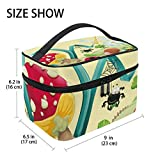 Best World Traveler Overnight Business Travel Bags - Funny Insect World Large Hanging Toiletry Bag Travel Review