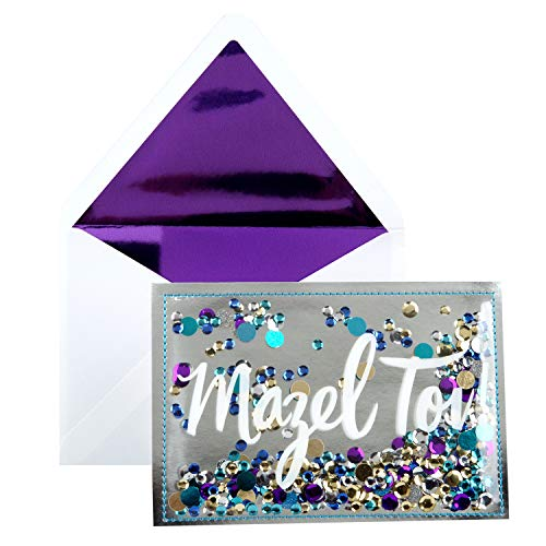 Hallmark Signature Congratulations Greeting Card (Mazel - Enclosure Gift Personalized