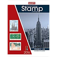 2016 Scott Catalogue Volume 4 (Countries J-M): Standard Postage Stamp Catalogue
