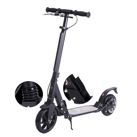 Y&XF Scooter eléctrico Plegable para Adultos con Frenos de ...