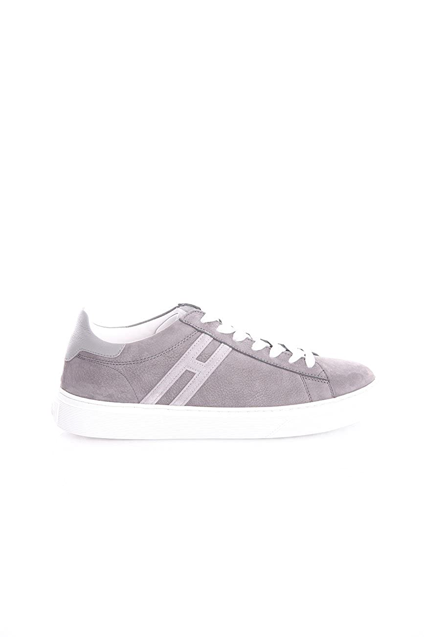 Hogan Sneakers H365 Grey IN Nubuk, Hombre. 9,5