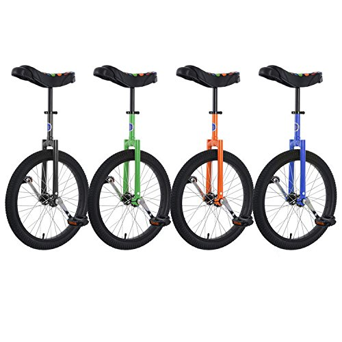 Club 20'' Freestyle Unicycle - Green by Unicycle.com (Image #7)