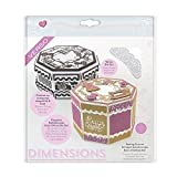 TONIC STUDIOS Sewing Forever Octagon Kaleidoscope Box Verso Dimensions Dies
