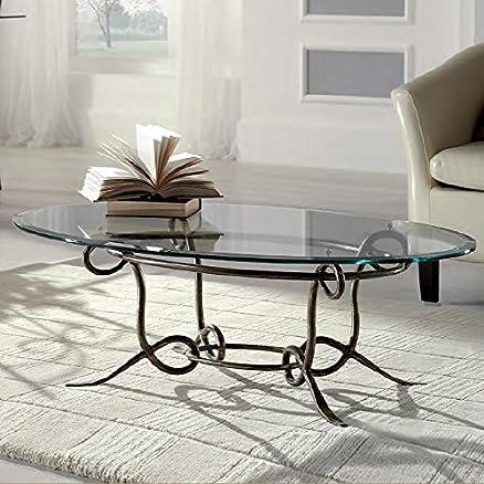 Tavolino in ferro battuto Achille: Amazon.it: Casa e cucina