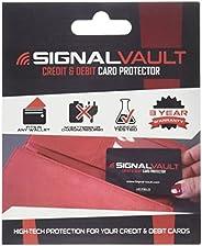 SignalVault SV-2Pack RFID Blocking Signal Vault Credit & Debit Card Protector (2 Ca
