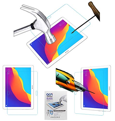 Acm Tempered Glass Screenguard Compatible with Honor Pad 5 10.1 Tablet
