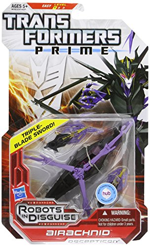 Transformers Prime Robots In Disguise Deluxe Class Airachnid -