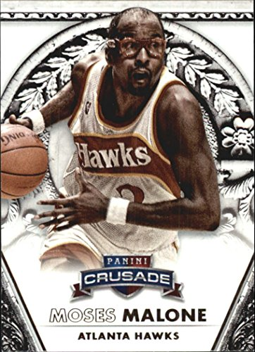 (2013-14 Panini Crusade #167 Moses Malone Basketball Card)