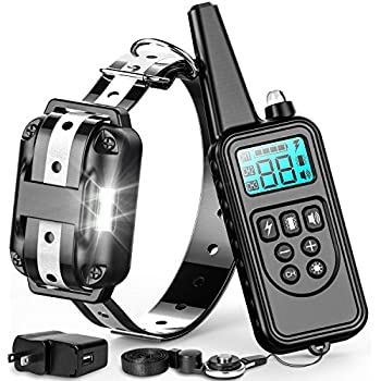 Amazon Com F Color Dog Training Collar Waterproof And