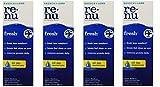 Renu Fresh Multi-Purpose Contact Lens Solution 2 oz Travel Size (Pack Of 4)