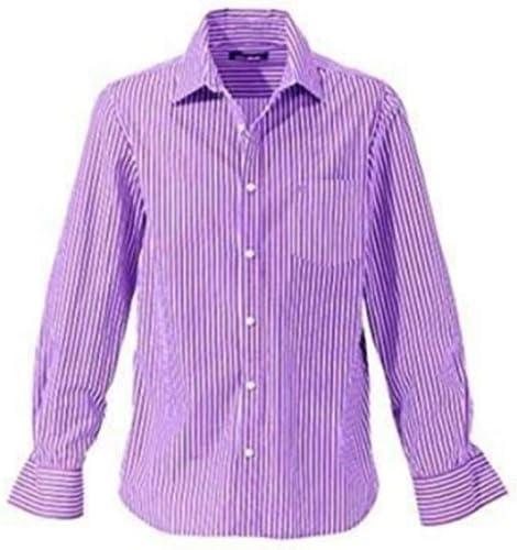 Camisa de John Devin en púrpura De rayas - lila, morado, XS: Amazon.es: Ropa y accesorios