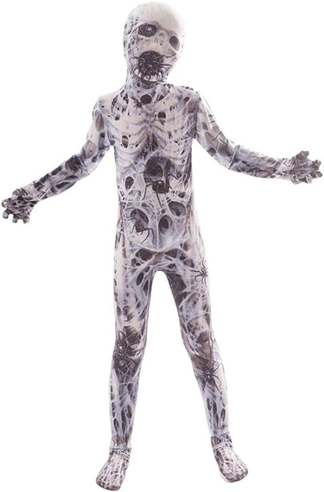 Disfraz Terror Niño de Esqueleto Payaso Horror Hombre Lobo ...