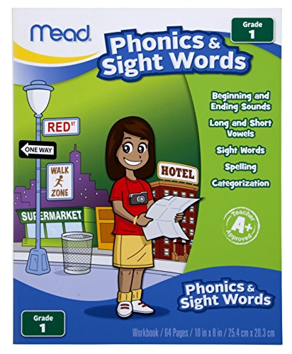 Mead Phonics and Sight Words Workbook, Grade 1 (48128)
