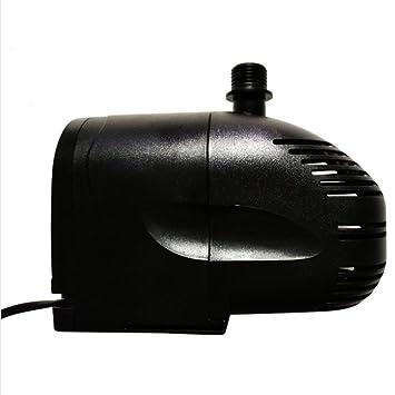 X&MX Bomba Sumergible Bomba De Agua para Acuario Estanque Pecera Hydroponicscycle Estatuaria Filtro Bomba, 12W