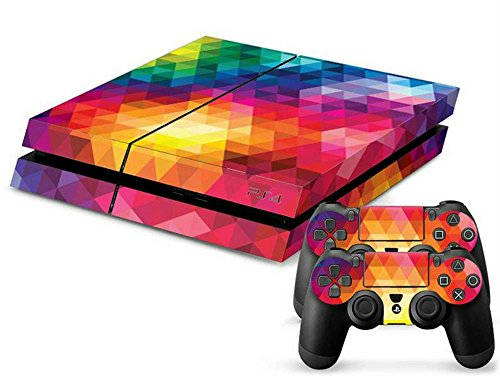 Price comparison product image MODFREAKZ™ Console and Controller Vinyl Skin Set - Bright Diamond for Playstation 4