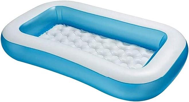 QHJ - Piscina hinchable para niños y adultos, color azul, tamaño ...