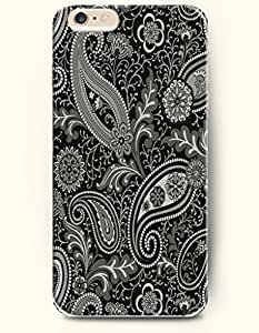 iPhone 6 (4.7inch) Case, OOFIT Phone Cover Series for Apple iPhone 6 (4.7inch) Case -- Big Eyed Ornate Black White Owl
