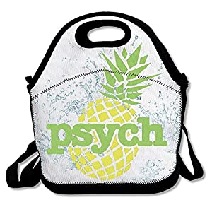 Kkajjhd Psych Pineapple Tote Bags And Velcro Tote Bags, Travel And Picnic For Adults, Boys And Girls (cats)