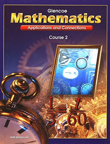 Download Mathematics (Applications and Connections, Course 2) pdf epub