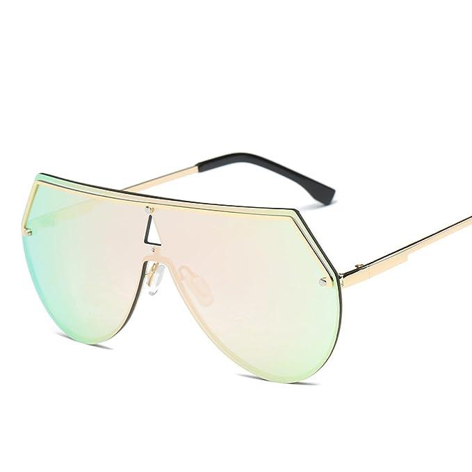 Sonnenbrille Männer Und Frauen Sonnenbrillen Yurt Mode Ein Stück Brille,A2