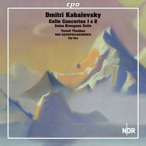 Kabalewsky: Cello Concerto [Torleif Thed??en, Eiji Oue] [CPO: 777668-2] by Torleif Thed??en