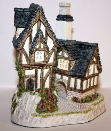 David Winter Cottages 1991 The Candlemaker's Collectors Guild