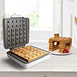 CucinaPro Building Brick Electric Waffle
