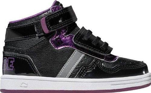 Globe Kids Boys Superfly (bimbo / Bimbo) Sneaker Black / Dark Purple 9 Bambino M