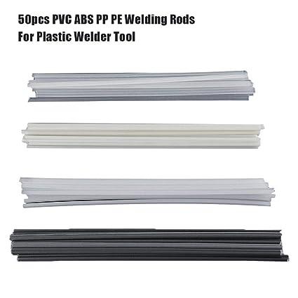 HealthyBear 50 Piezas Varillas de Soldadura Plástico ABS/PP/PVC/PE ...