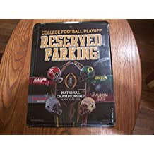 Ohio State Buckeyes METAL Wall Parking Sign University of