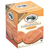 Shady Maple Farms Waffle Cookie Organic Honey & Maple 240 g (Pack of 8)