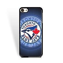 MLB-Ipod Touch 6th Generation Cases Toronto Blue Jays for Fans Purple Baseball Team Logo Case for Ipod Touch 6th Generation Solid