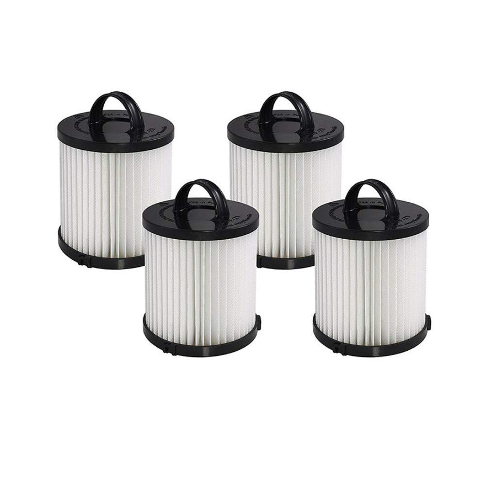 SaferCCTV 4pcs Replacement Dust Cup Filter DCF-21 Replaces Part # 67821, 68931, 68931A, EF91 for Eureka Airspeed AS1000 Series Upright Vacuum Cleaners