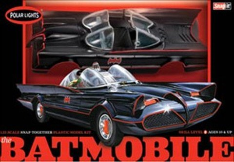 Polar Lights 1966 Batmobile Snap Model Car Kit #824