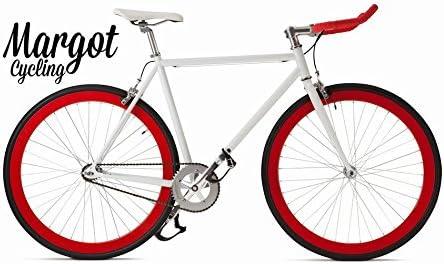 Margot Cycling Europa Bici Fixie – Fixed Bike Modelo: Bullhorn ...