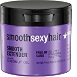 Sexy Hair Smooth Extender Nourishing Smoothing Masque, 6.8 Ounce