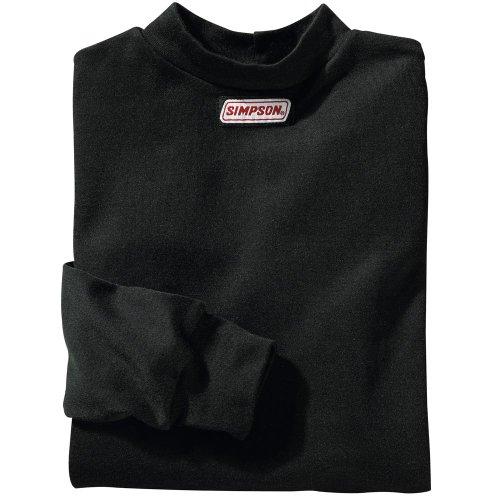 Simpson Racing 20600L CarbonX Large Long Sleeve Underwear Top - Simpson Racing Gear