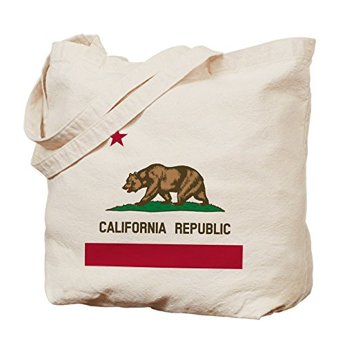 CafePress Unique Design Flag of California Tote Bag - Standard Multi-color by CafePress