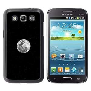 The Perfect Luna Llena - Metal de aluminio y de plástico duro Caja del teléfono - Negro - Samsung Galaxy Win I8550