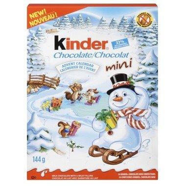 Kinder Chocolate Advent Calendar *Peanut Free* 24 Mini Confections (144g)