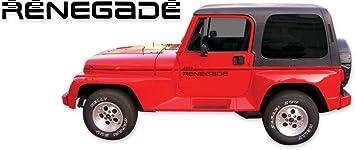 1991 1992 1993 1994 Jeep Renegade YJ Decals /& Stripes Kit