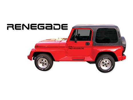 1991 1992 1993 1994 Jeep Renegade YJ adhesivos & Stripes Kit