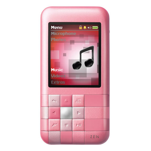 Creative Labs Mozaic Player Pink product image