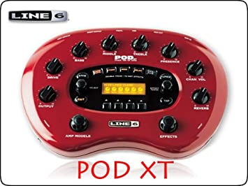 amazon LINE6 podxt アンプシミュレーター 楽器