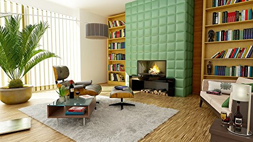 Home Comforts LAMINATED POSTER Room Apartment Decoration Fireplace Interior Design Poster 24x16 Adhesive Decal by Home Comforts