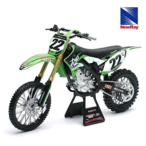 MOTORCYCLE 1:6 TWO TWO MOTORSPORTS KAWASAKI KX450F for sale  Delivered anywhere in USA
