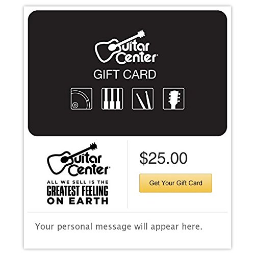 Guitar Center Gift Cards - E-mail Delivery by Guitar Center